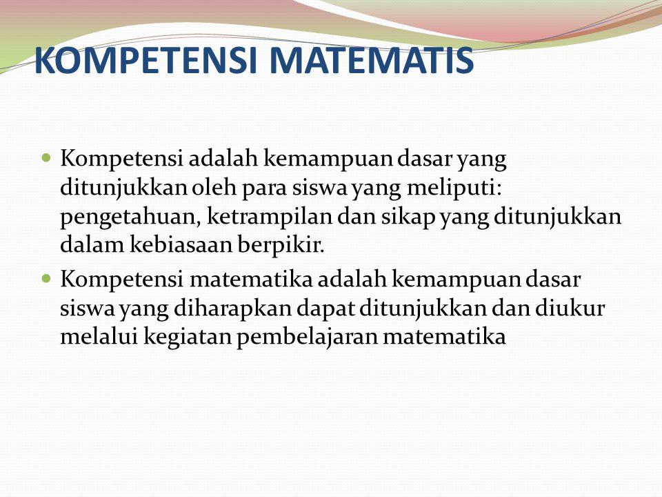 KOMPETENSI MATEMATIS
