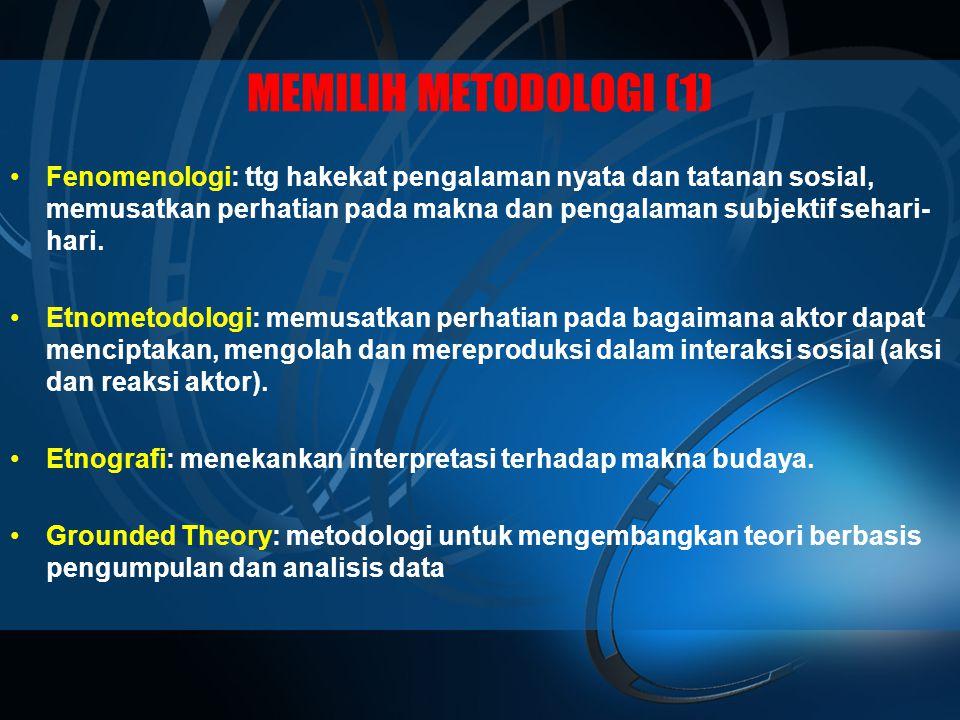 MEMILIH METODOLOGI (1)