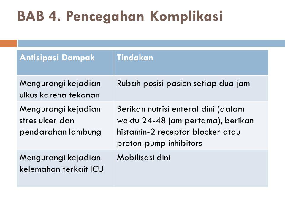 BAB 4. Pencegahan Komplikasi