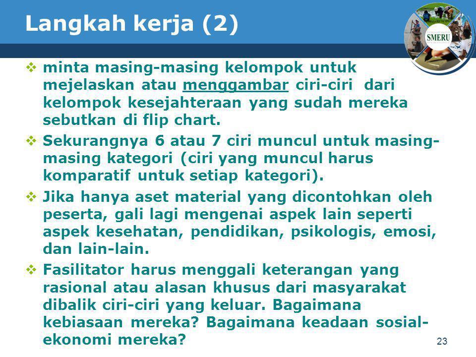 Langkah kerja (2)
