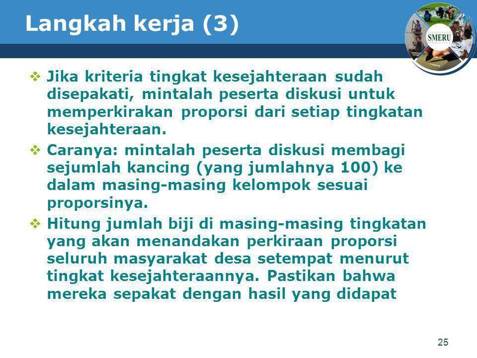 Langkah kerja (3)