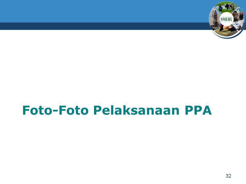 Foto-Foto Pelaksanaan PPA