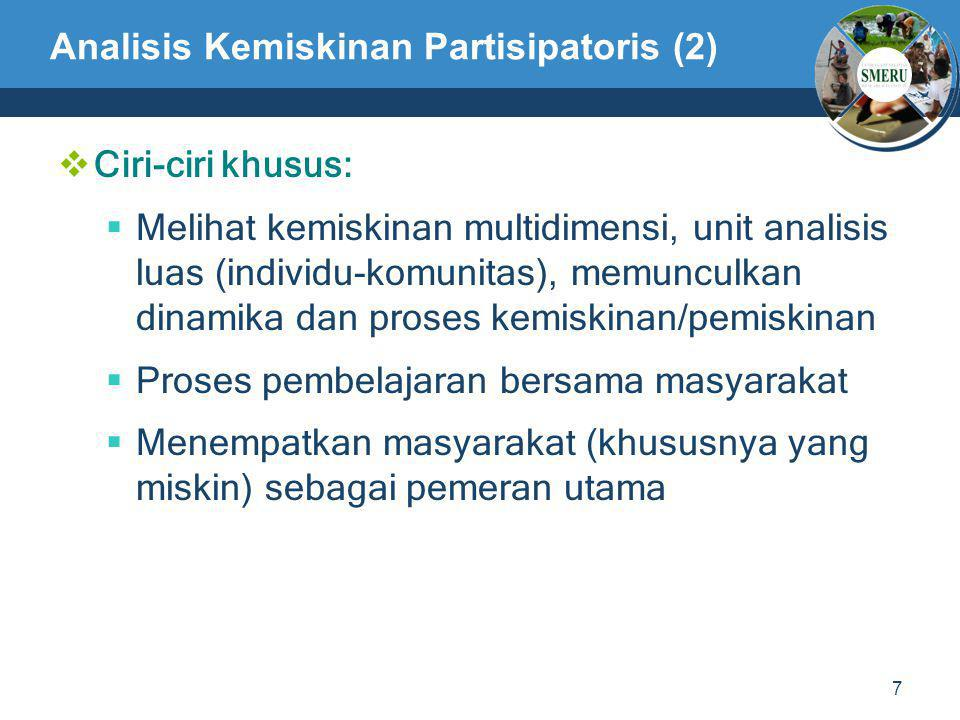 Analisis Kemiskinan Partisipatoris (2)