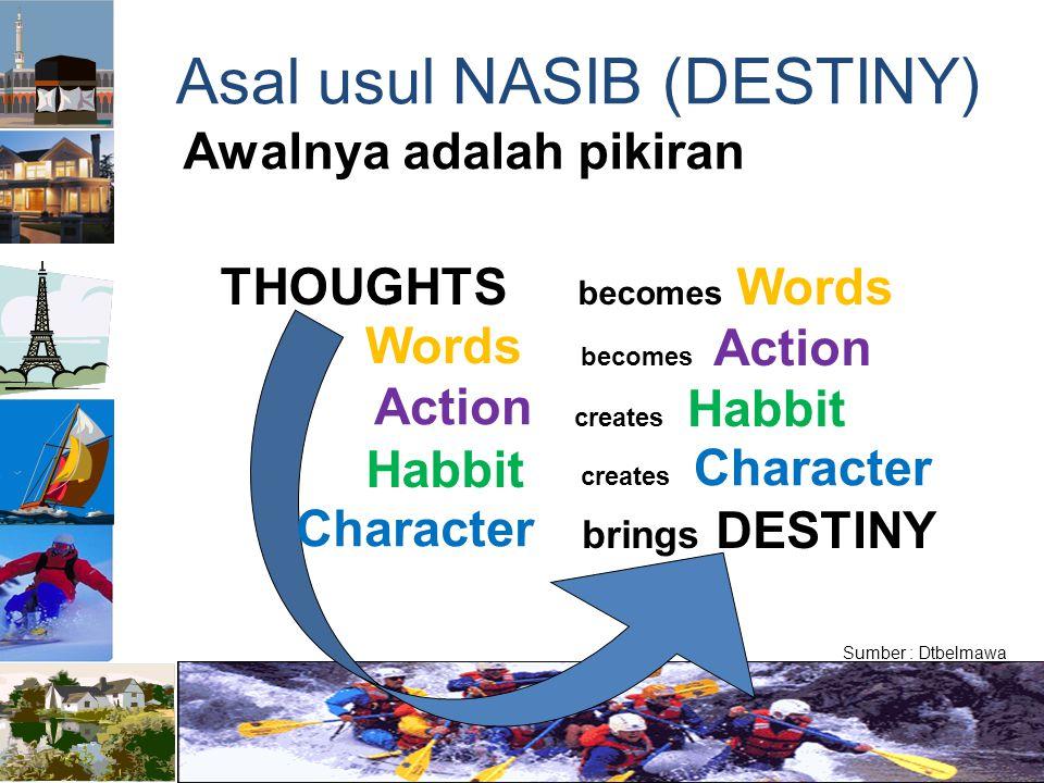 Asal usul NASIB (DESTINY)