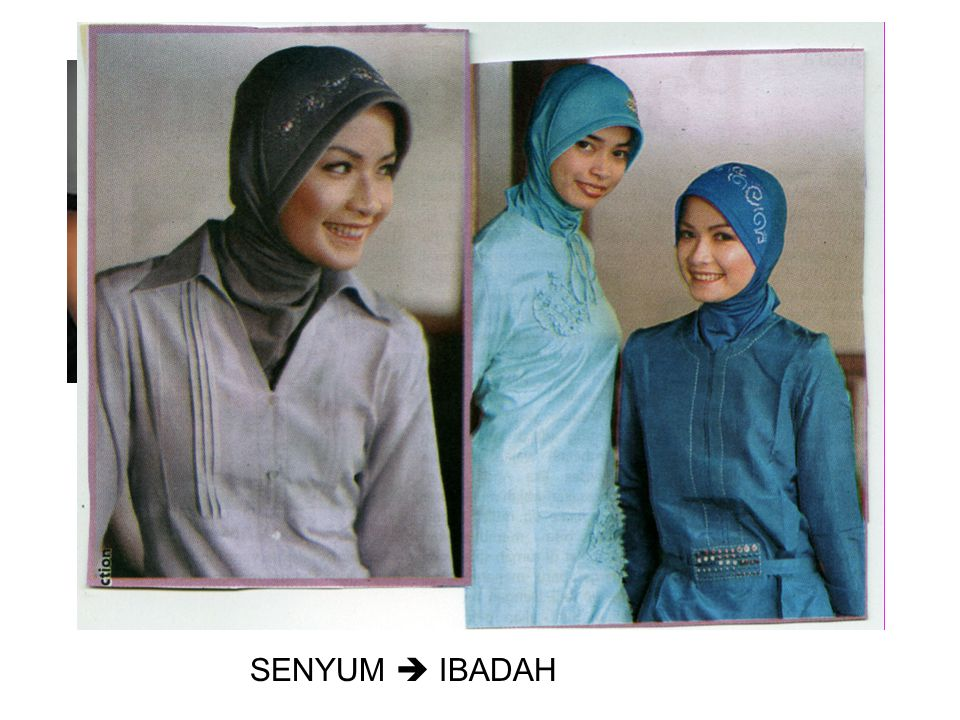 SENYUM  IBADAH