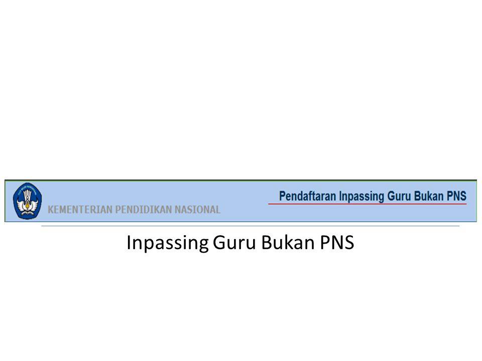 Inpassing Guru Bukan PNS