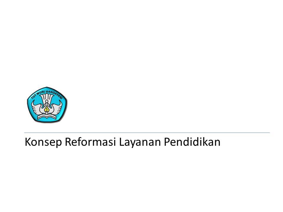 Konsep Reformasi Layanan Pendidikan