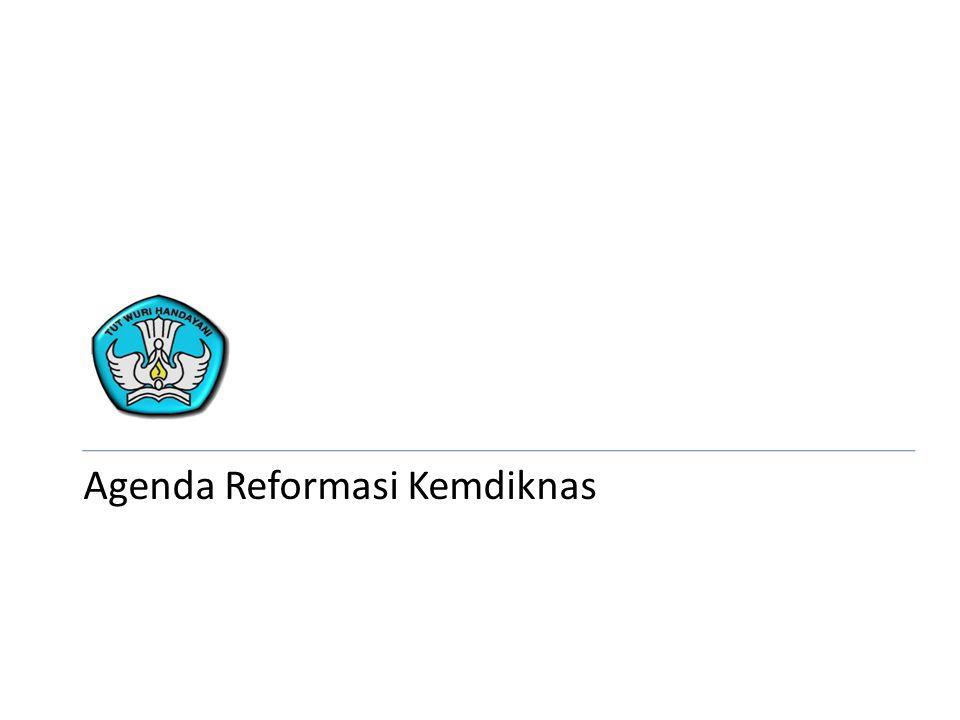 Agenda Reformasi Kemdiknas