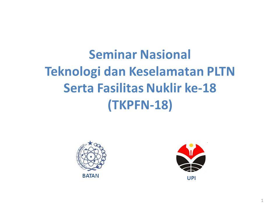 Teknologi dan Keselamatan PLTN Serta Fasilitas Nuklir ke-18