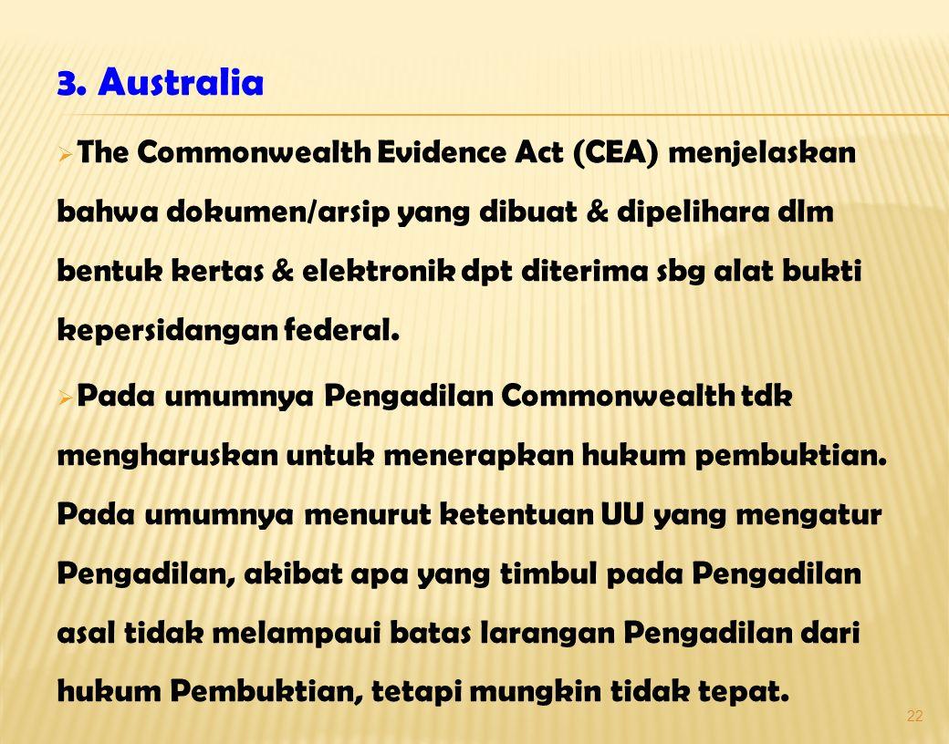 3. Australia