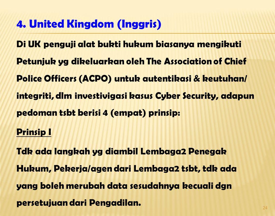4. United Kingdom (Inggris)