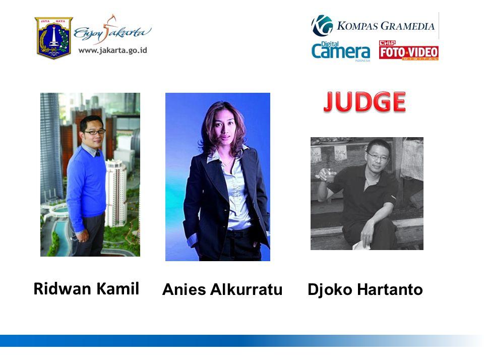 JUDGE Anies Alkurratu Djoko Hartanto Ridwan Kamil