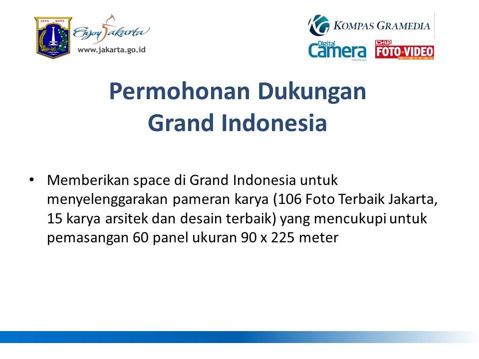 Permohonan Dukungan Grand Indonesia