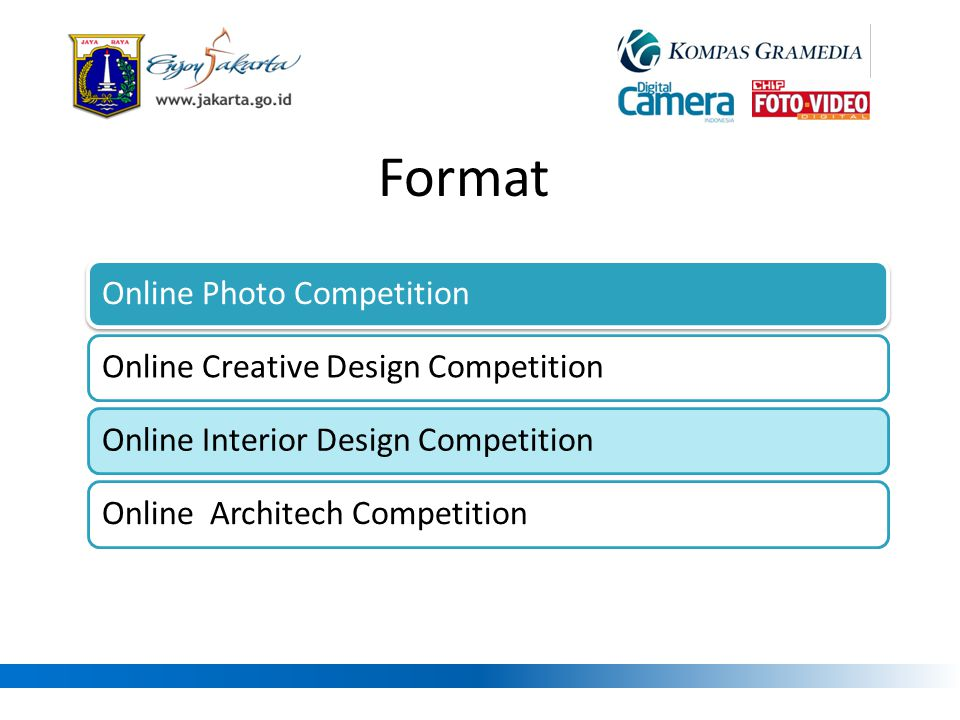 Format Online Photo Competition Online Creative Design Competition