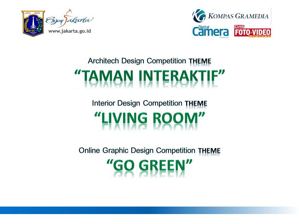 Taman interaktif Living room GO Green