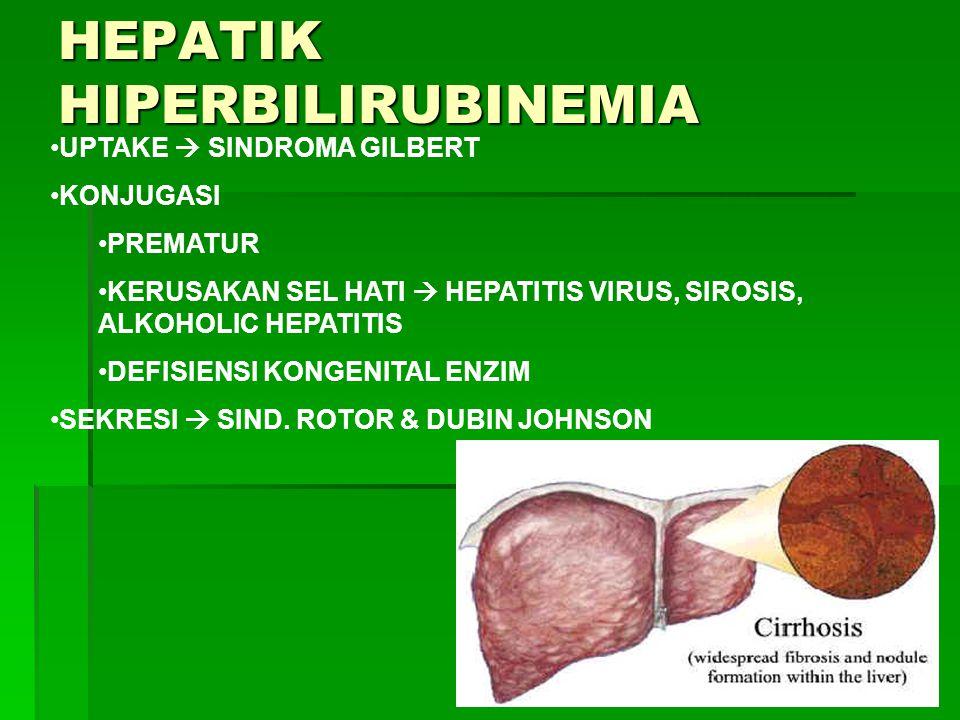 HEPATIK HIPERBILIRUBINEMIA