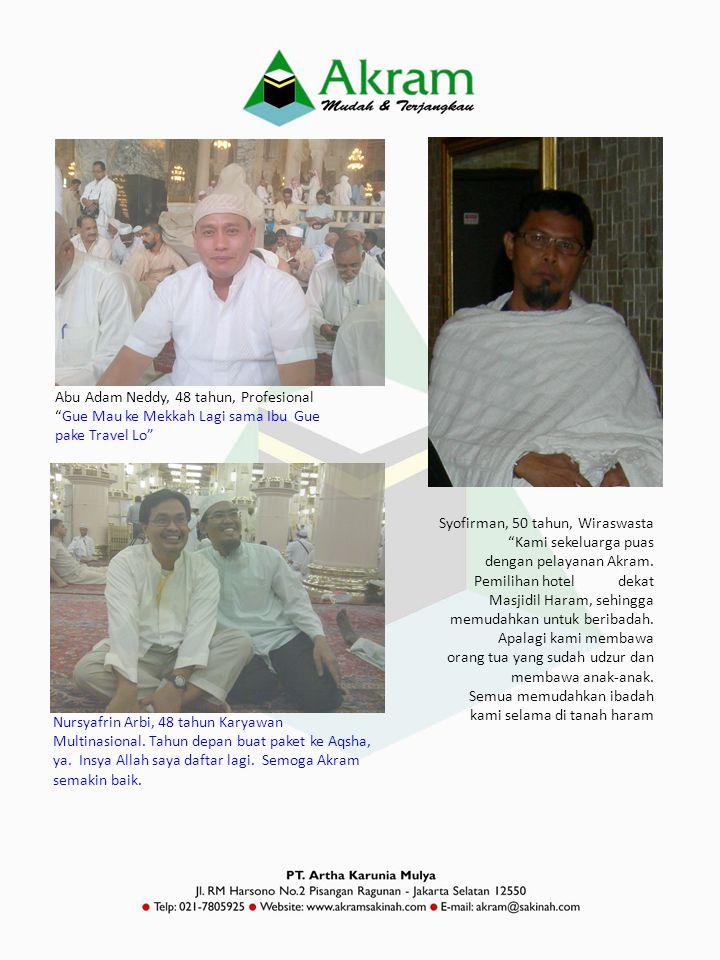 Abu Adam Neddy, 48 tahun, Profesional