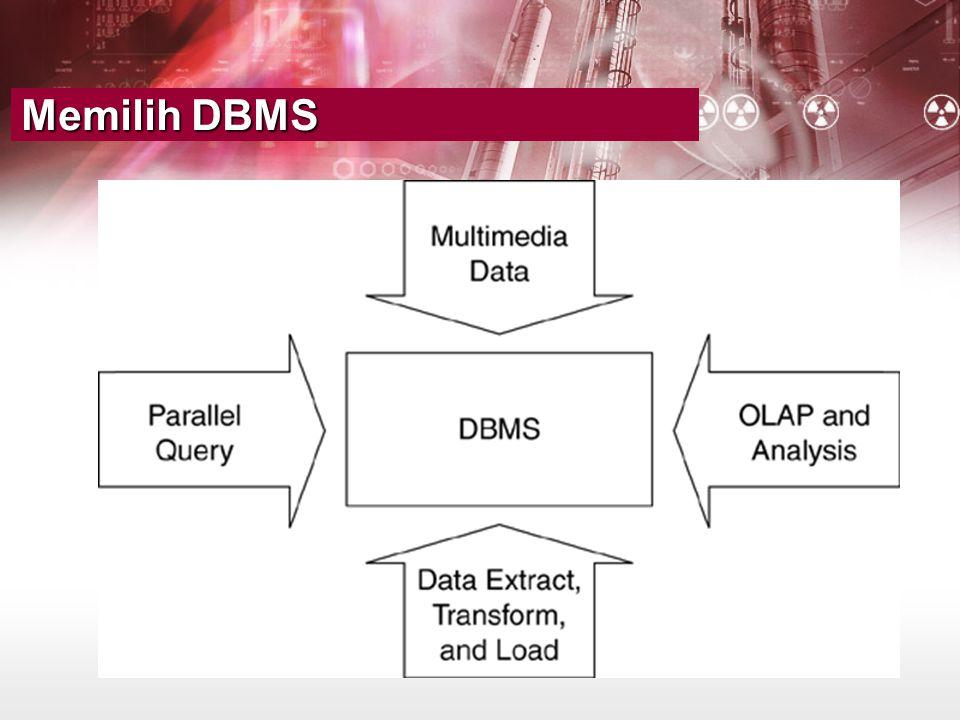 Memilih DBMS