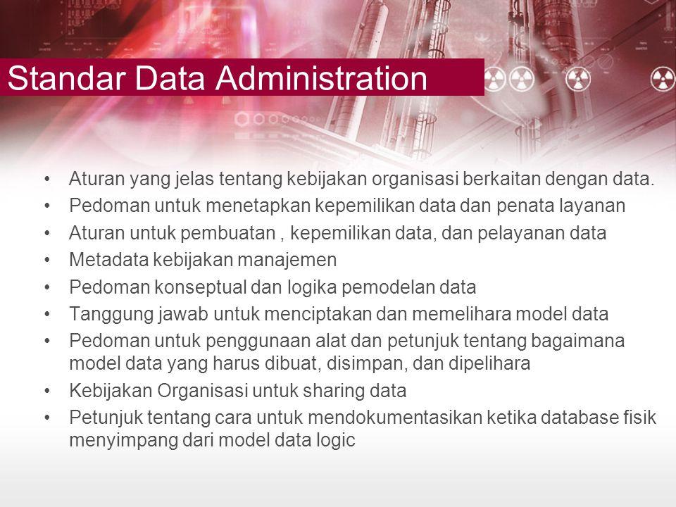 Standar Data Administration