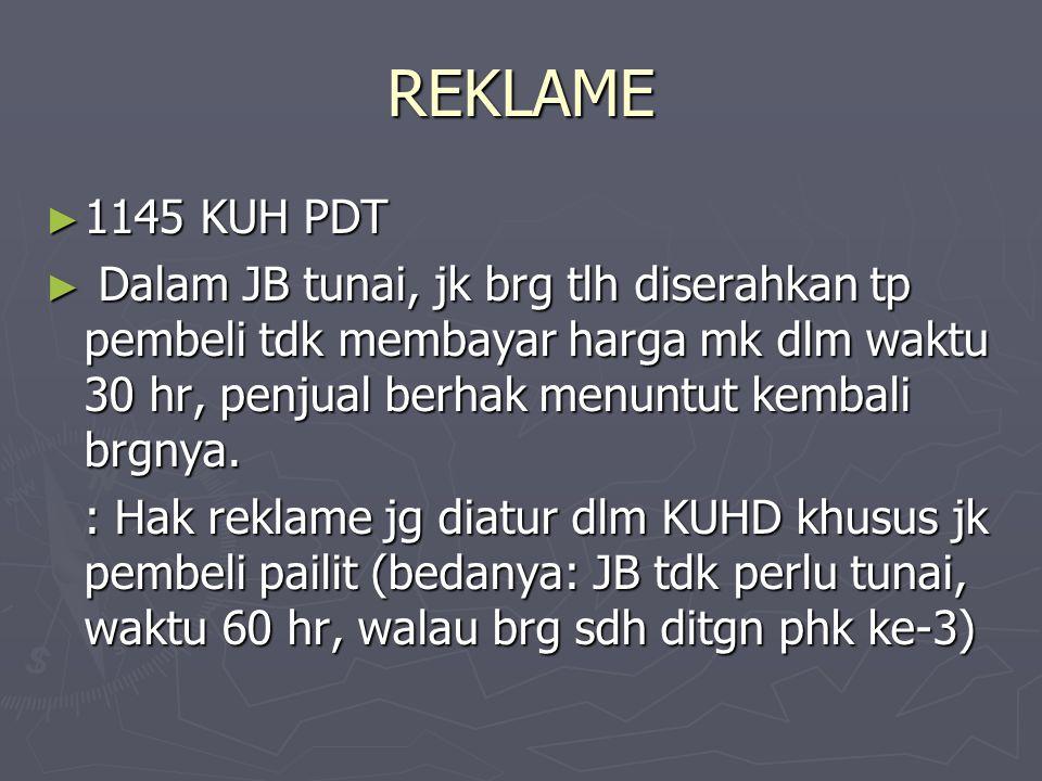 REKLAME 1145 KUH PDT.