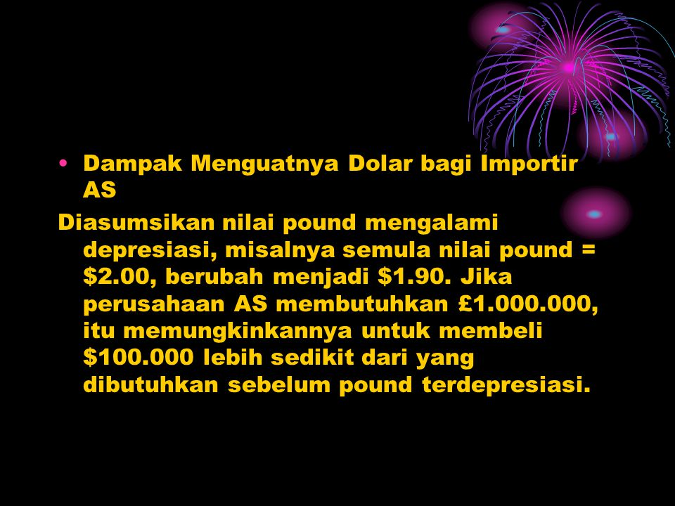 Dampak Menguatnya Dolar bagi Importir AS