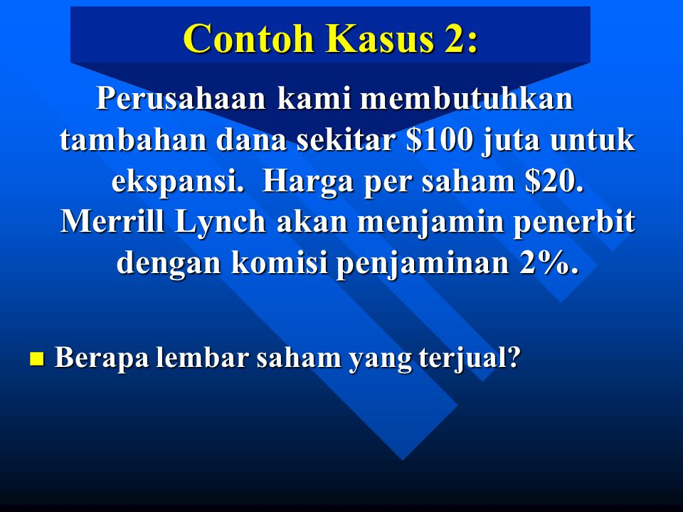 Contoh Kasus 2: