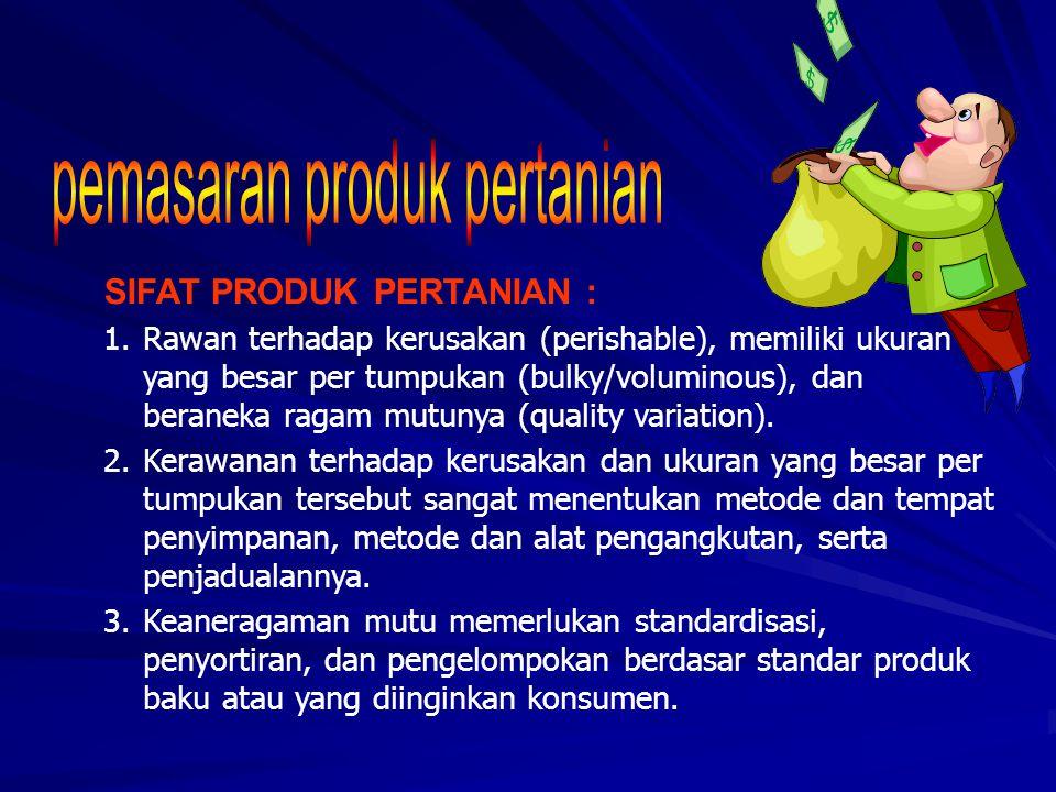 pemasaran produk pertanian