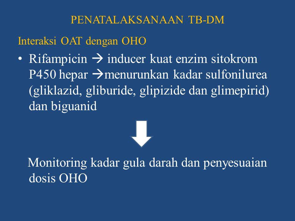 PENATALAKSANAAN TB-DM