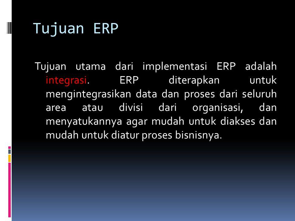 Tujuan ERP