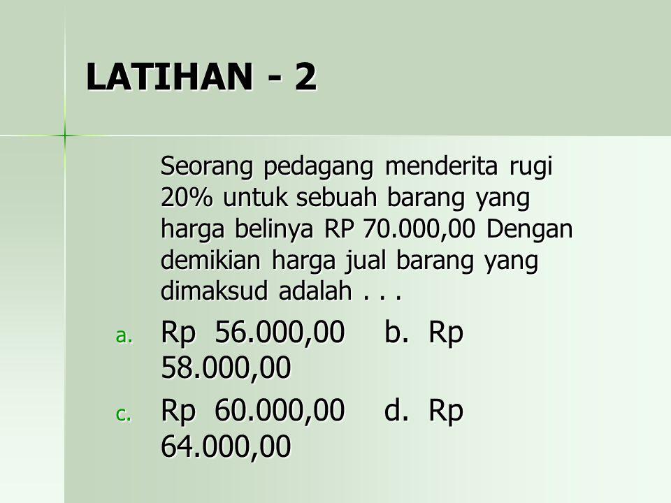 LATIHAN - 2