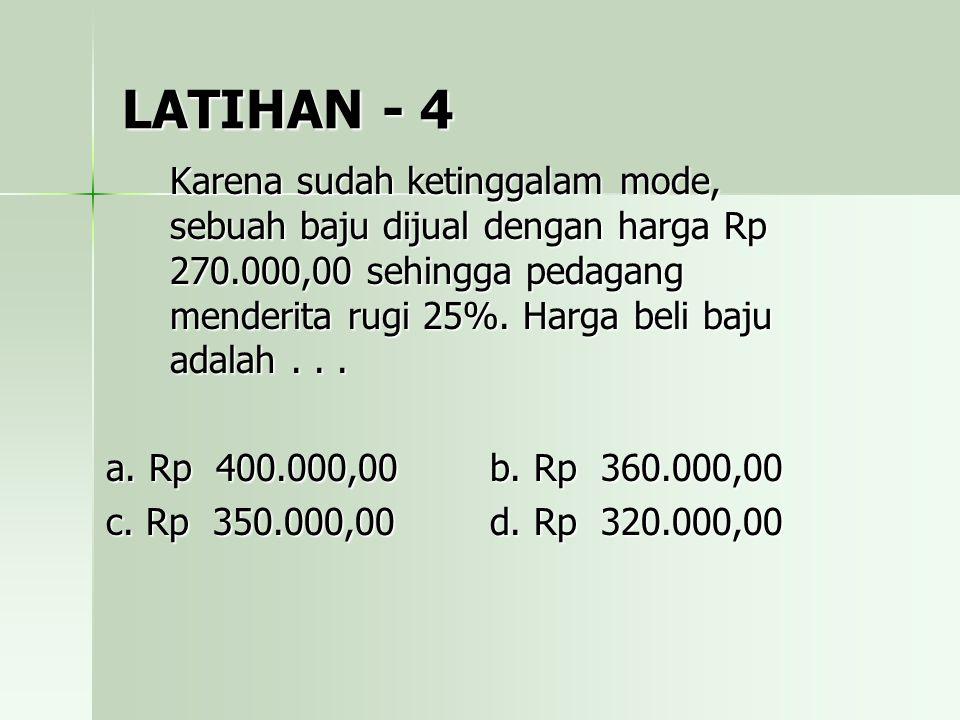 LATIHAN - 4