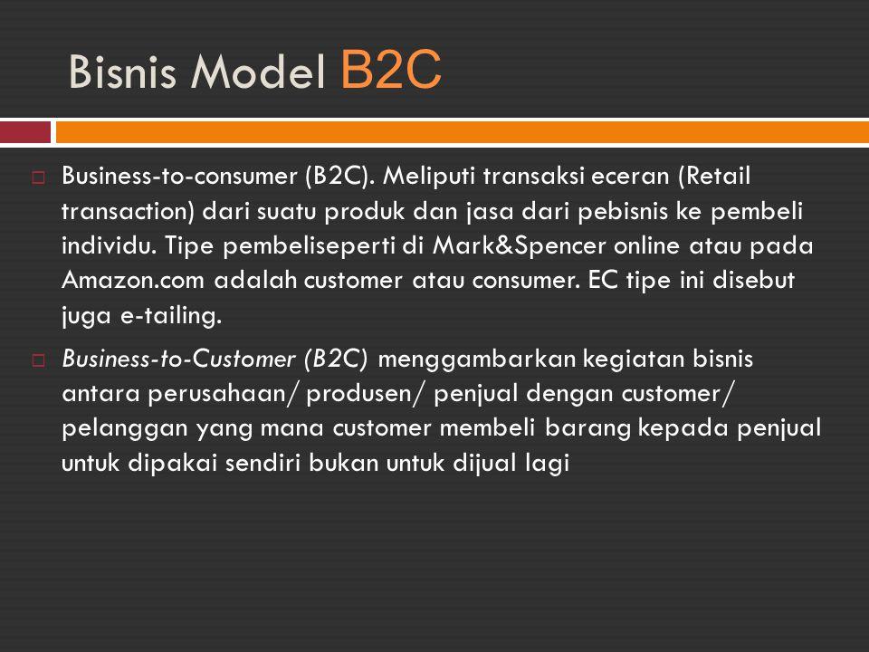 Bisnis Model B2C