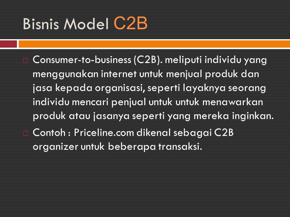 Bisnis Model C2B