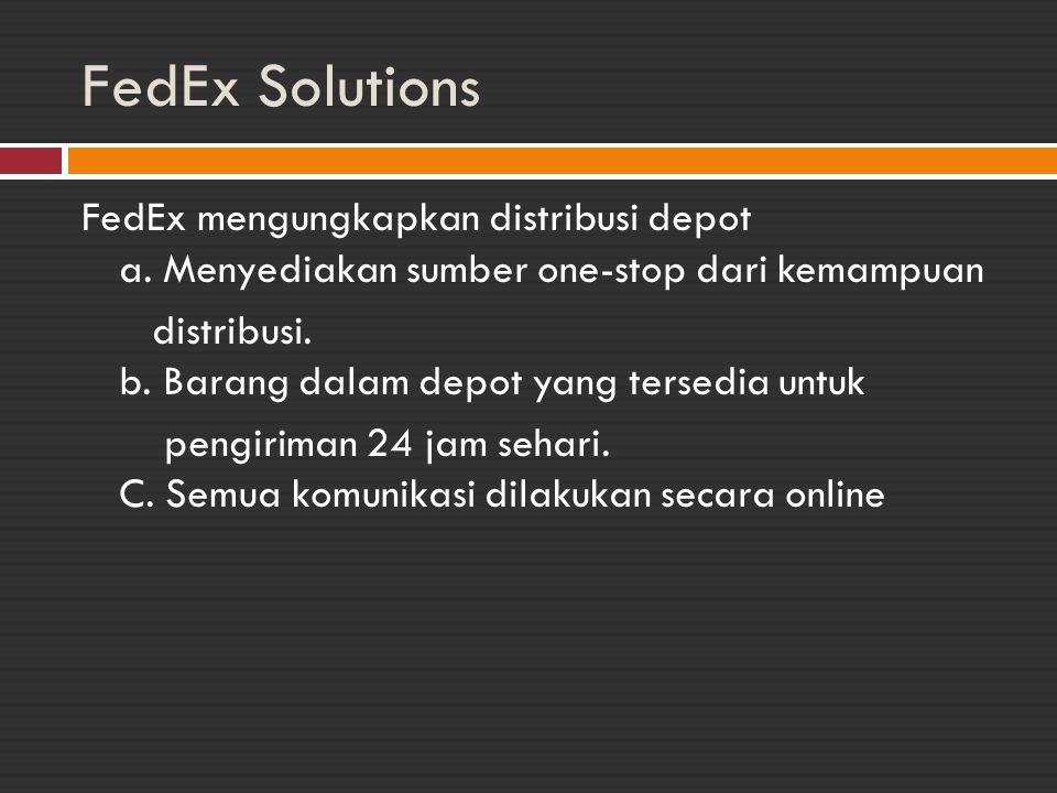 FedEx Solutions