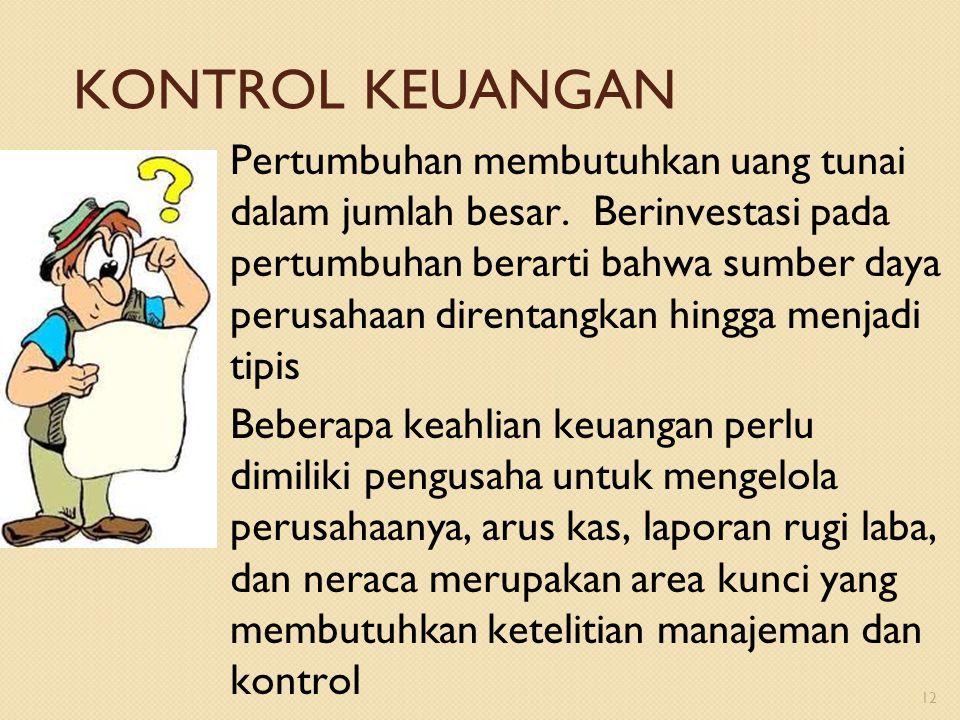 KONTROL KEUANGAN