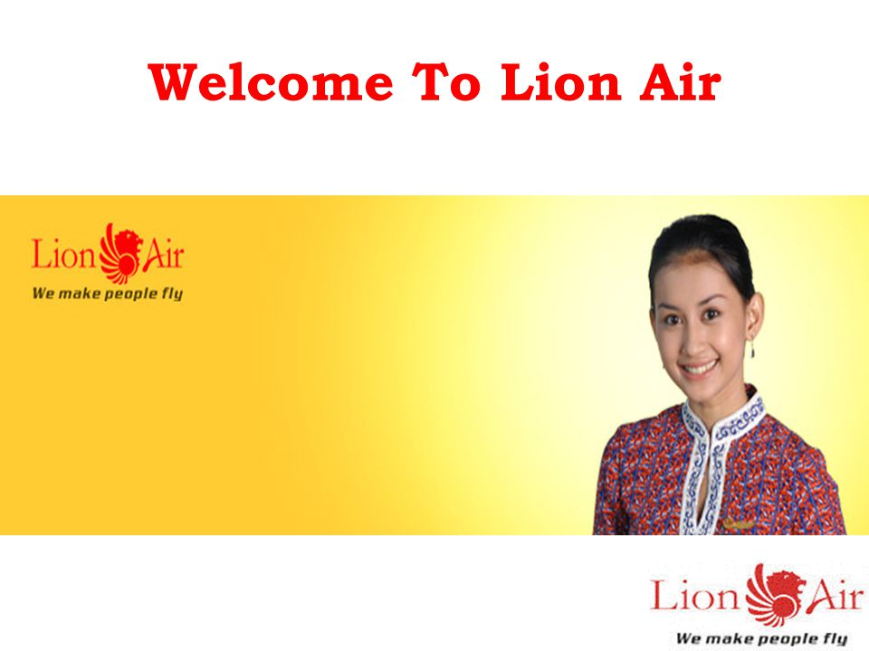 Welcome To Lion Air