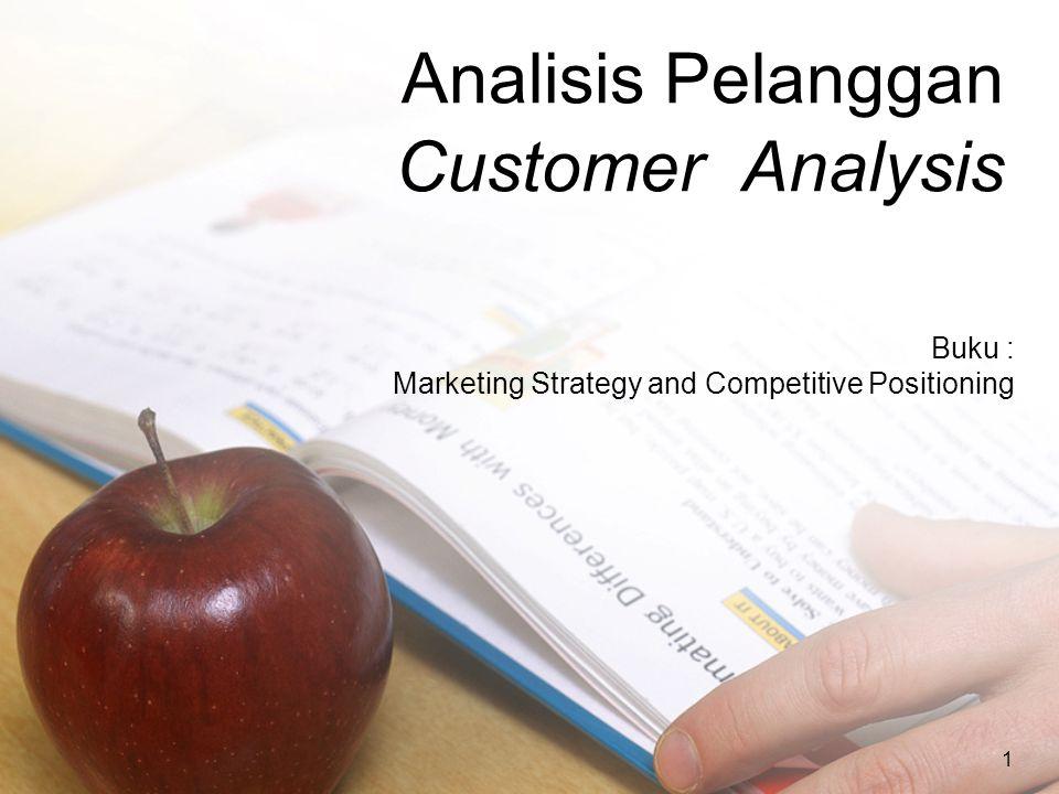 Analisis Pelanggan Customer Analysis