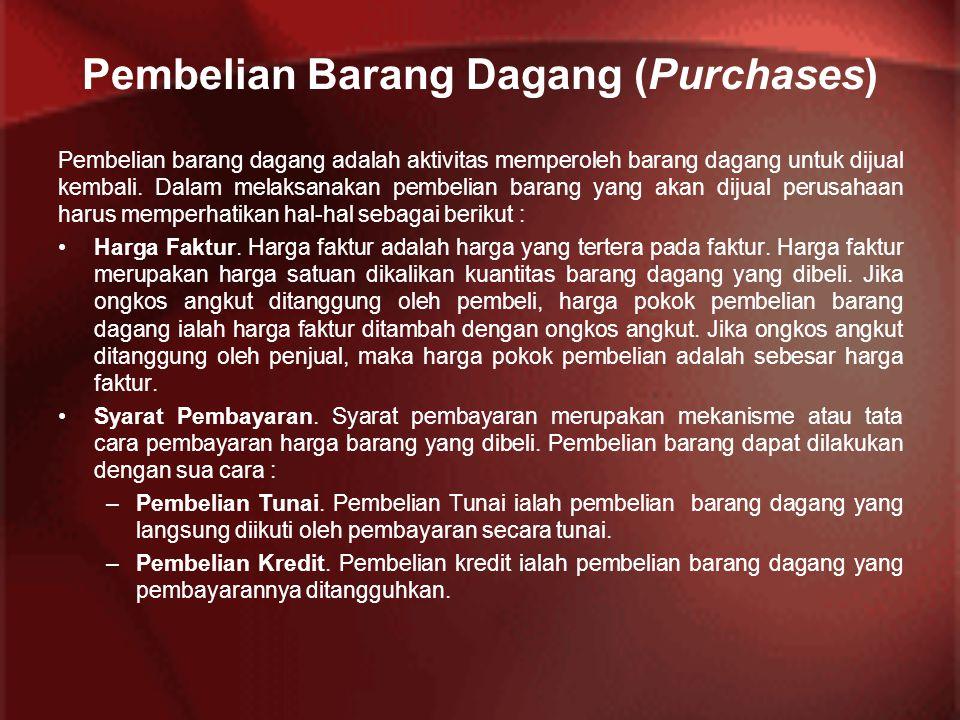 Pembelian Barang Dagang (Purchases)