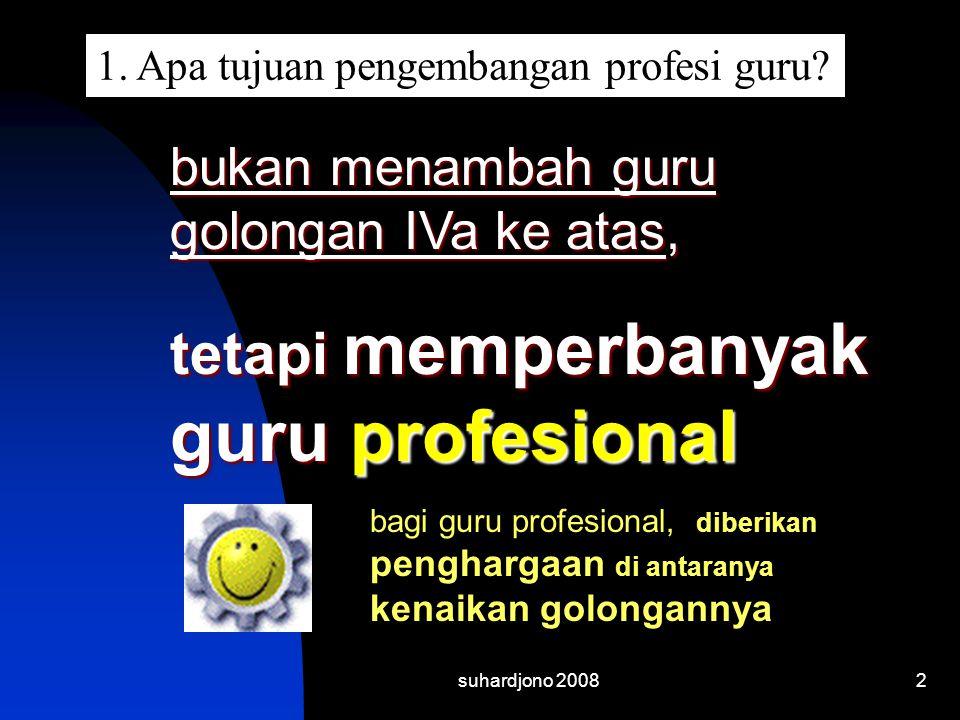 tetapi memperbanyak guru profesional