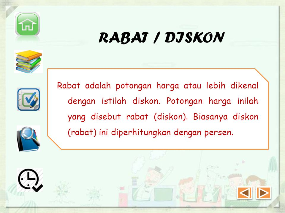 RABAT / DISKON