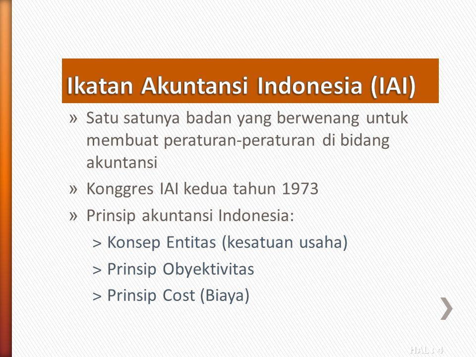 Ikatan Akuntansi Indonesia (IAI)