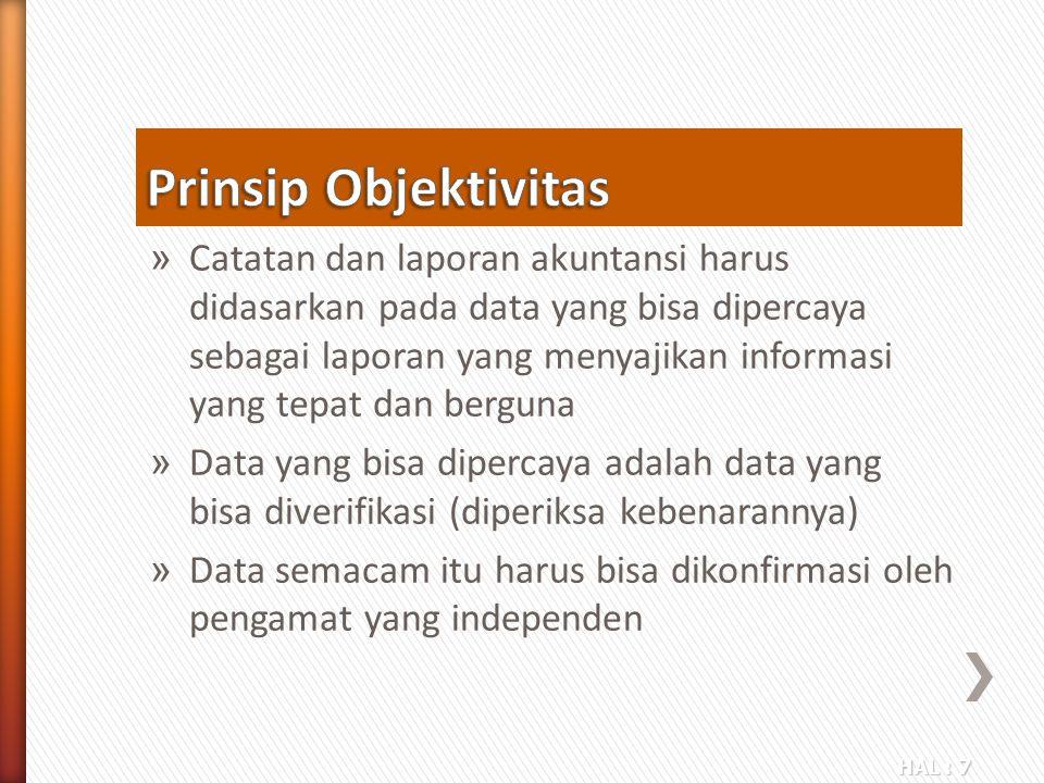 Prinsip Objektivitas