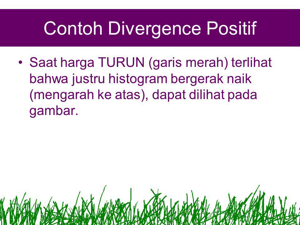 Contoh Divergence Positif
