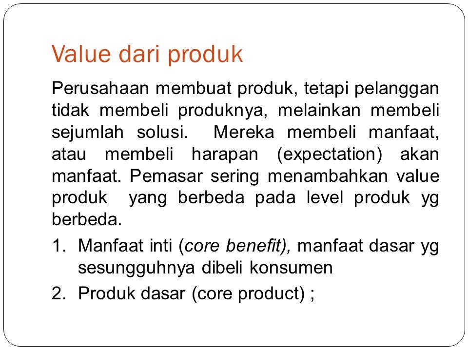 Value dari produk