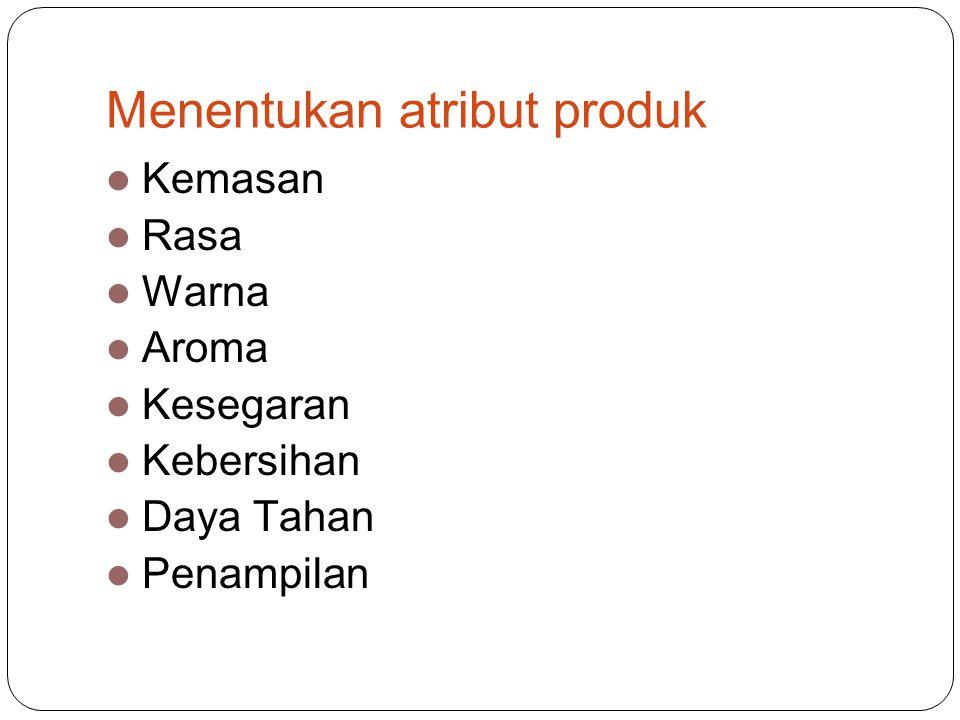 Menentukan atribut produk