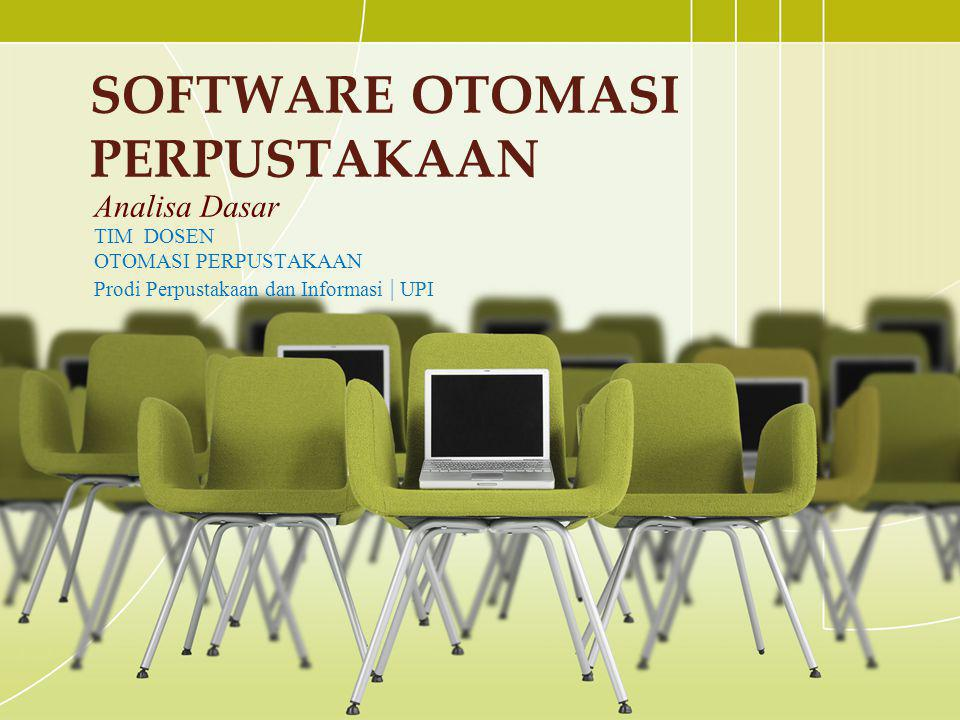 Software otomasi perpustakaan