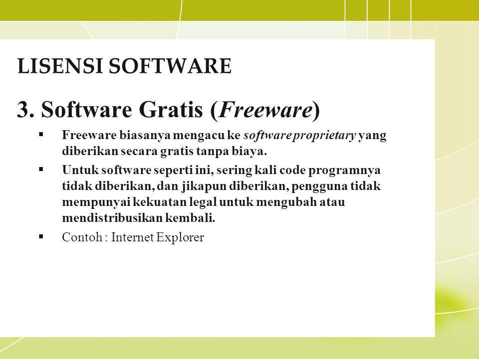 Software Gratis (Freeware)