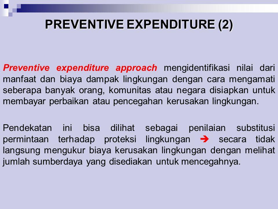 PREVENTIVE EXPENDITURE (2)