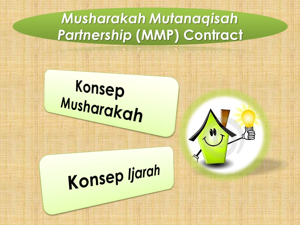 Musharakah Mutanaqisah Partnership (MMP) Contract