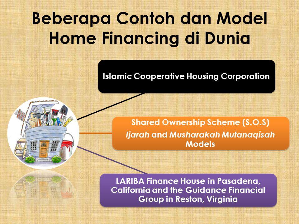 Beberapa Contoh dan Model Home Financing di Dunia